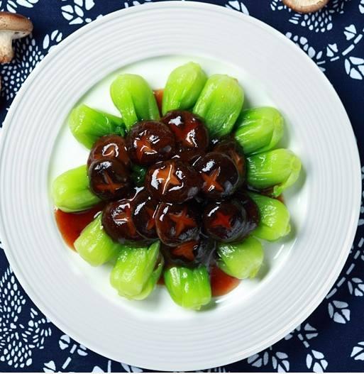美食:香菇菜心补钙效果强