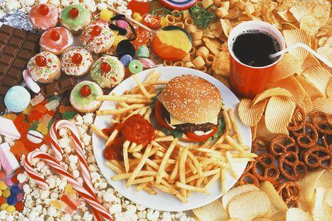 保持健康 拒绝垃圾食品