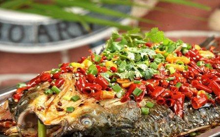美食推荐:香烤草鱼