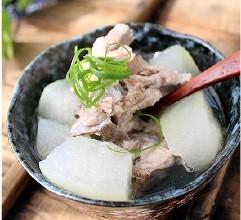 冬瓜排骨汤:美容养胃