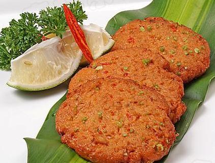 在家就能做的泰式美食:泰式鱼饼
