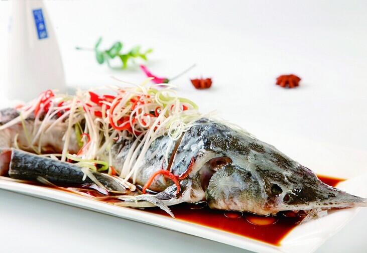 清蒸鲟鱼做法大全
